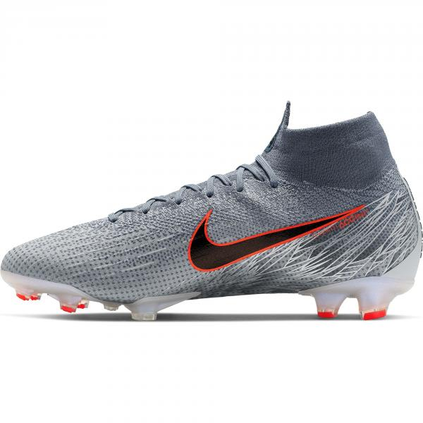 Nike Scarpe Calcio Superfly 6 Elite Fg Grigio Negozio Online