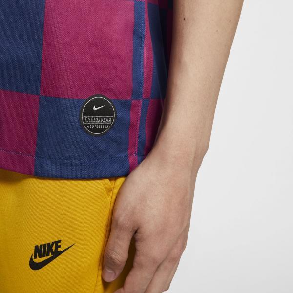 Nike Maglia Gara Home Barcellona   19/20 Blu Tifoshop