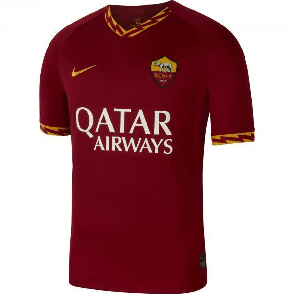 Nike Maglia Gara Home Roma   19/20 Rosso