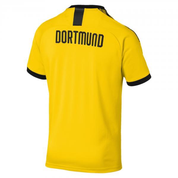Puma Maglia Gara Home Borussia Dortmund   19/20 Giallo Tifoshop