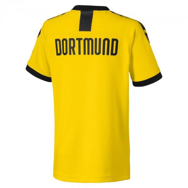 Puma Maglia Gara Home Borussia Dortmund Junior  19/20 Giallo Nero Tifoshop