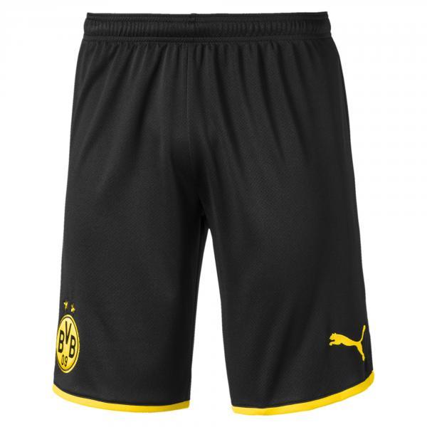 Puma Pantaloncini Gara Home Borussia Dortmund   19/20 Nero