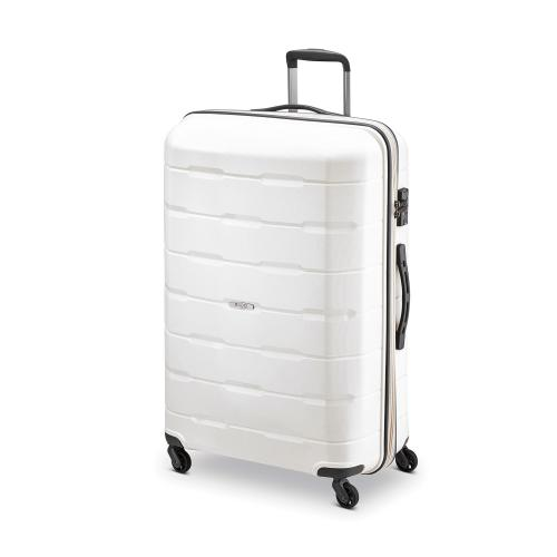 LARGE LUGGAGE  WHITE