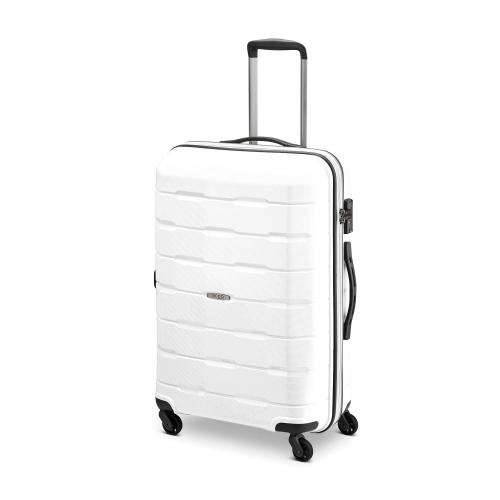 MEDIUM LUGGAGE  WHITE
