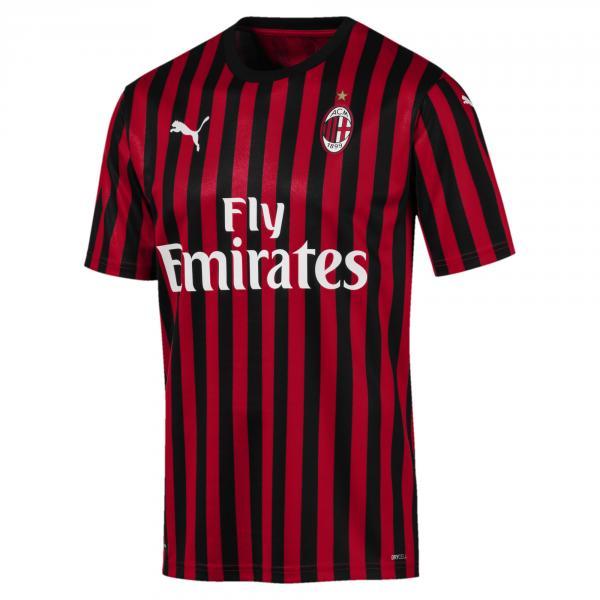 Puma Maglia Gara Authentic Home Milan   19/20 Rosso Nero