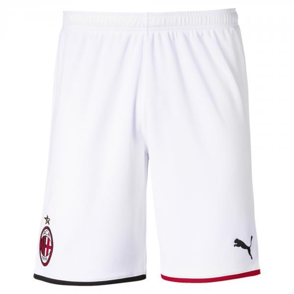 Puma Pantaloncini Gara Home & Away Milan   19/20 Bianco