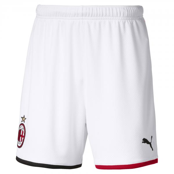 Puma Pantaloncini Gara Home & Away Milan Junior  19/20 Bianco