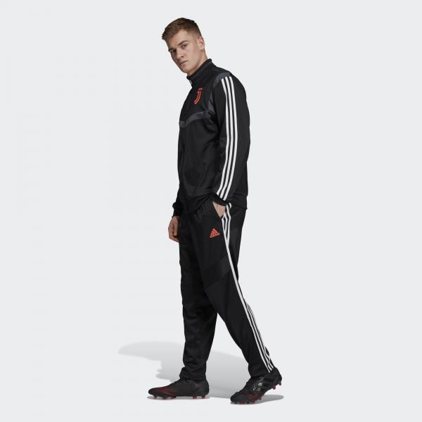 Adidas Tuta Allenamento Juventus Nero Tifoshop