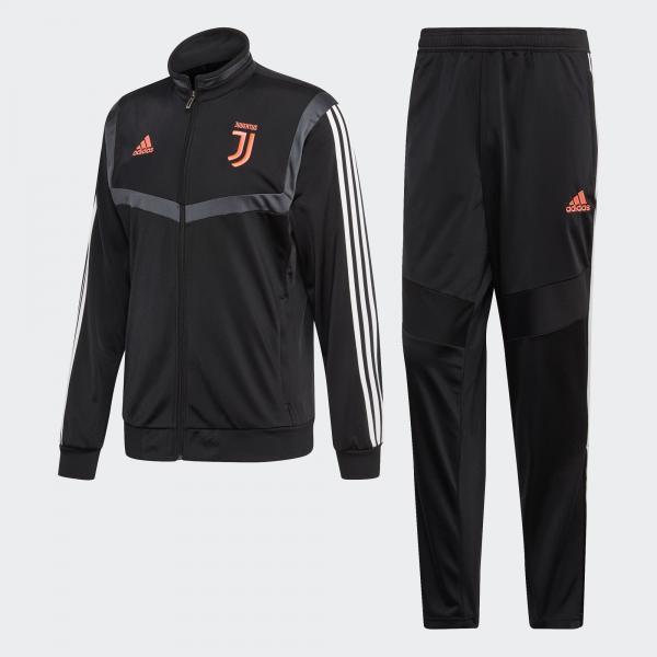 Adidas Tuta Allenamento Juventus Nero