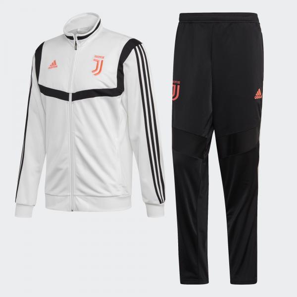 Adidas Tuta Allenamento Juventus Bianco