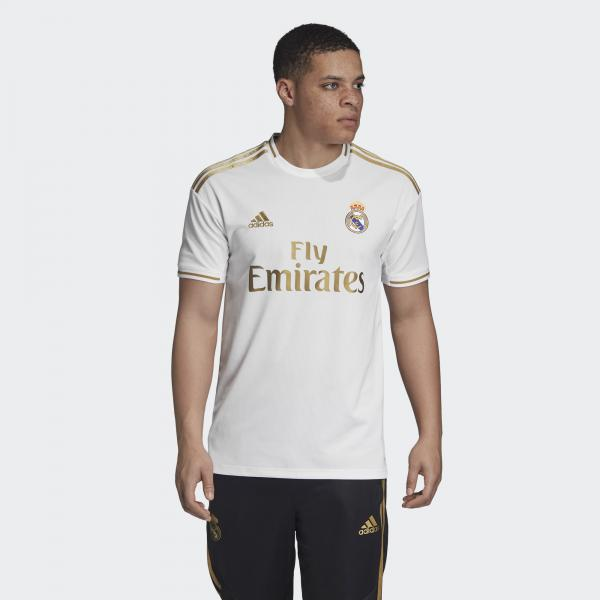 Adidas Maglia Gara Home Real Madrid   19/20 Bianco Tifoshop