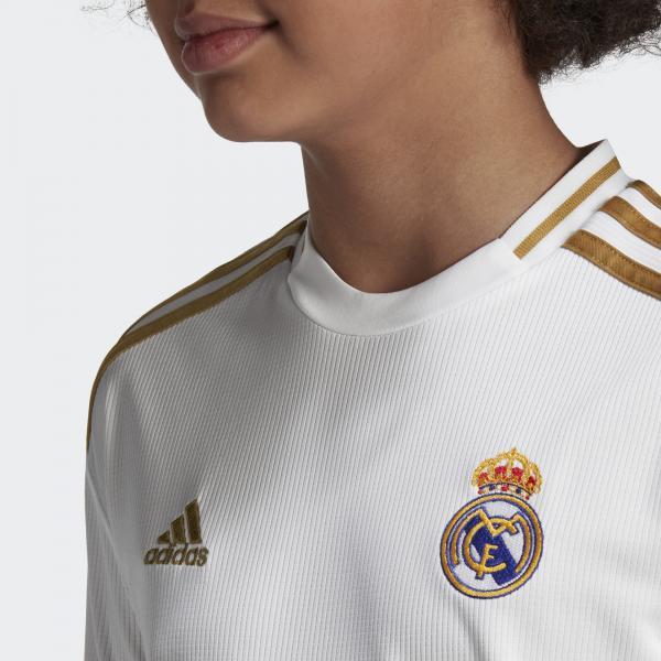 Adidas Maglia Gara Home Real Madrid Junior  19/20 Bianco Tifoshop