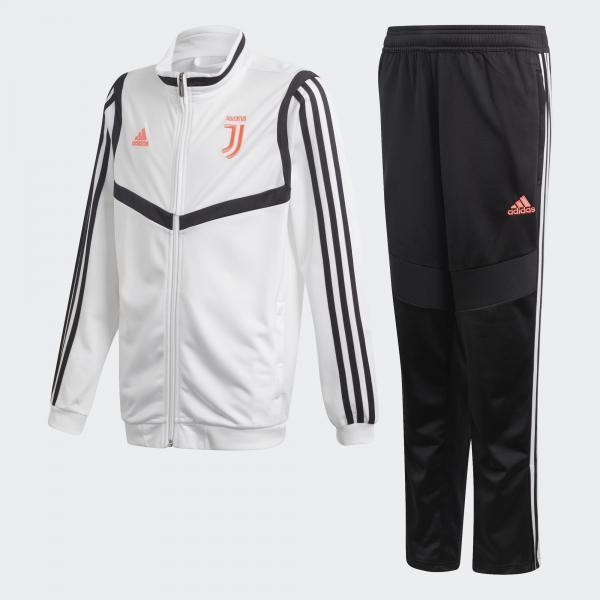 Adidas Tuta Allenamento Juventus Junior Bianco