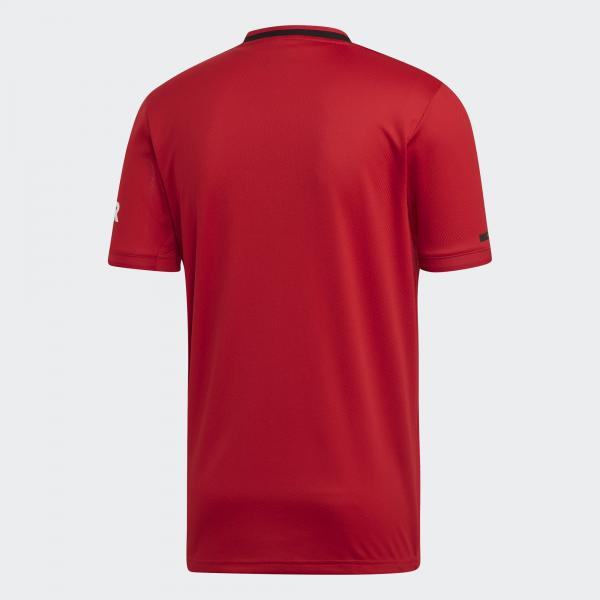 Adidas Maglia Gara Home Manchester United   19/20 Rosso Bianco Tifoshop