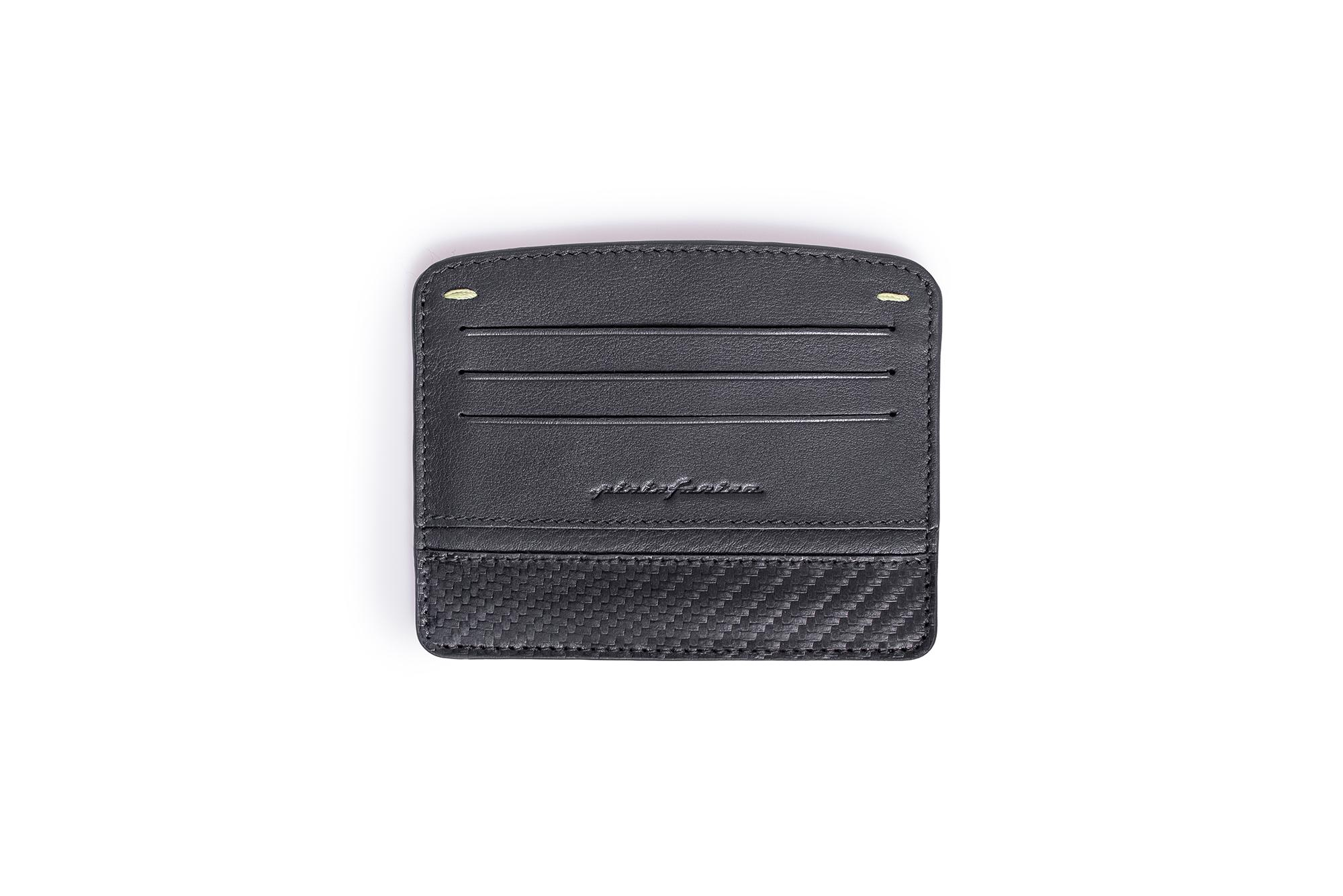 Cards Holder Folio By Pininfarina Carbon