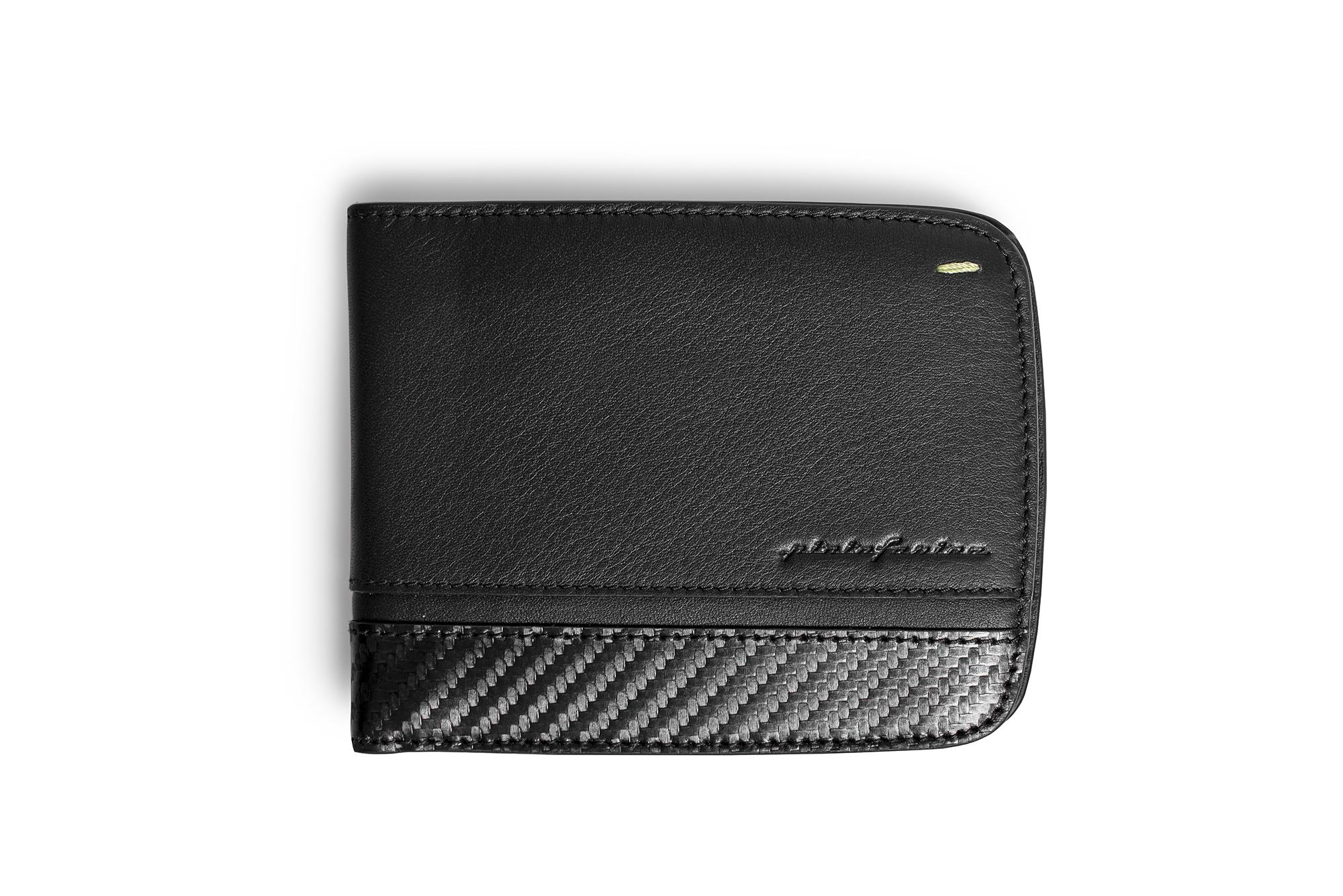 Wallet 6 Cards Folio By Pininfarina Carbon