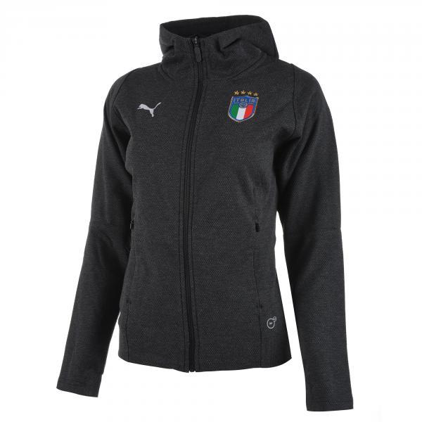 Felpa Tempo Libero Italia Donna Grigio FIGC Store