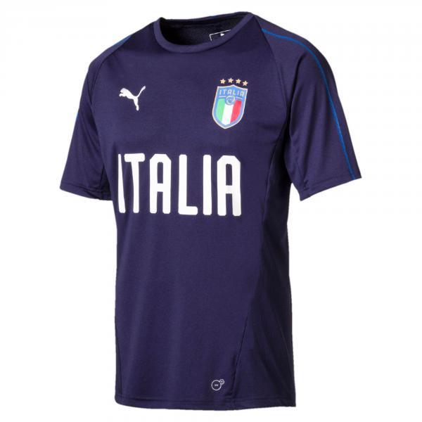 Puma Maglia Allenamento Figc Training Jersey Italia Blu