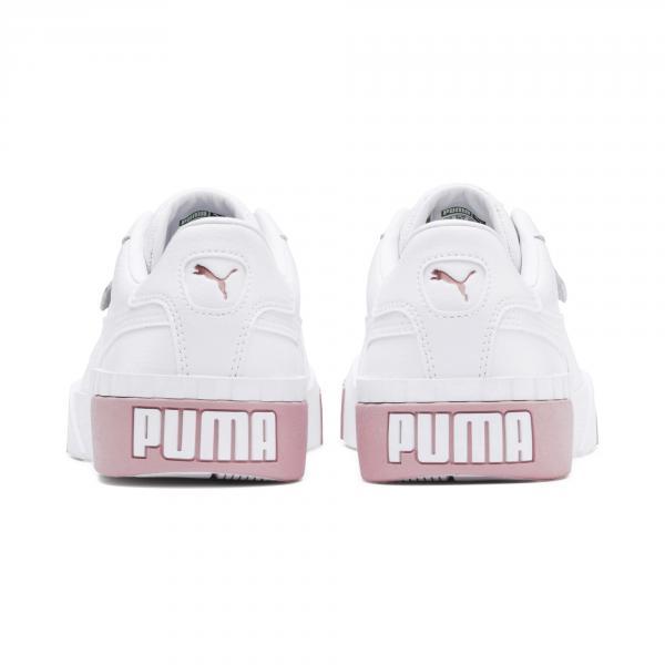 Puma Scarpe Cali  Donna Bianco Rosa Tifoshop