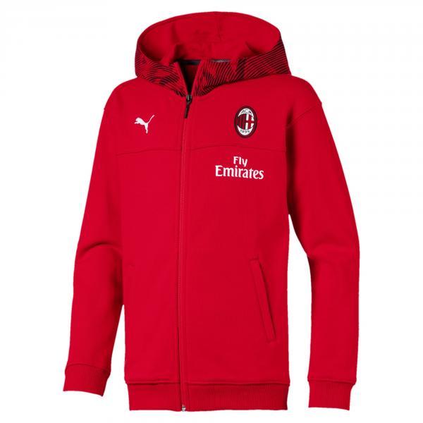 Puma Felpa Tempo Libero Milan Junior  19/20 Rosso