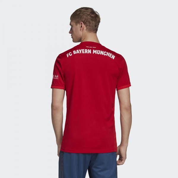 Adidas Maglia Gara Home Bayern Monaco   19/20 ROSSO Tifoshop
