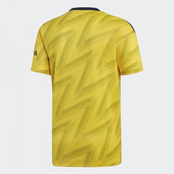 Adidas Maglia Gara Away Arsenal   19/20 Giallo Tifoshop
