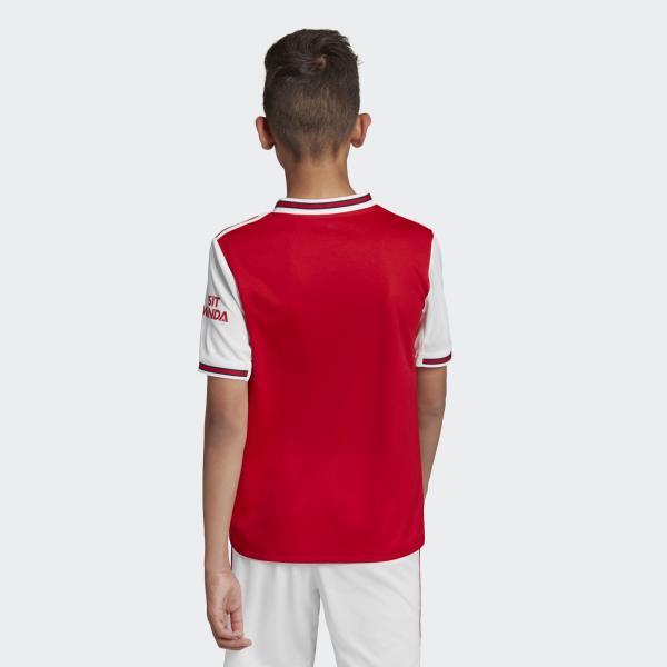 Adidas Maglia Gara Home Arsenal Junior  19/20 Rosso Tifoshop