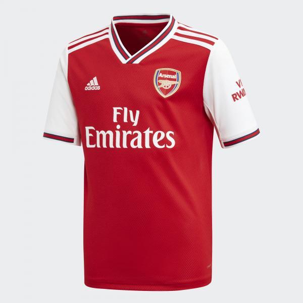 Adidas Maglia Gara Home Arsenal Junior  19/20 Rosso