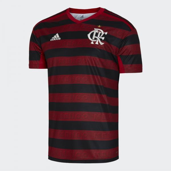 Adidas Maglia Gara Home Flamengo Regatta Club   19/20 Rosso Nero