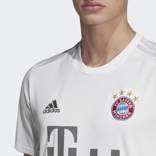 Adidas Maglia Gara Away Bayern Monaco   19/20 Bianco Tifoshop