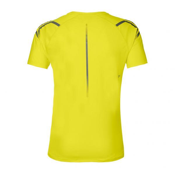 Asics T-shirt Icon Ss Giallo Tifoshop
