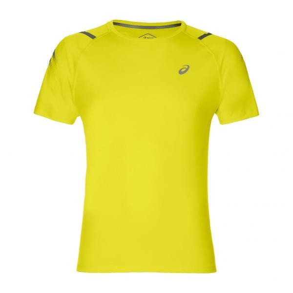 Asics T-shirt Icon Ss Giallo