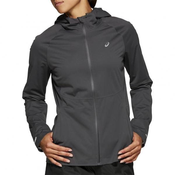 Asics Giacca Accelerate Jacket  Donna Grigio Tifoshop