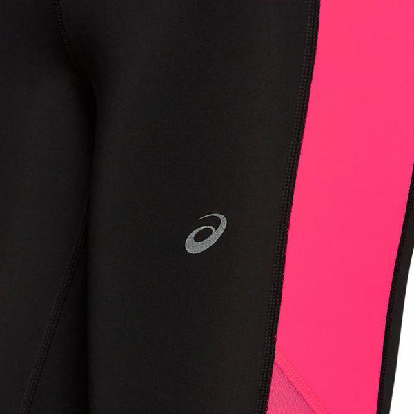 Asics Short Capri  Femmes PERFORMANCE BLACK / LASER PINK Tifoshop