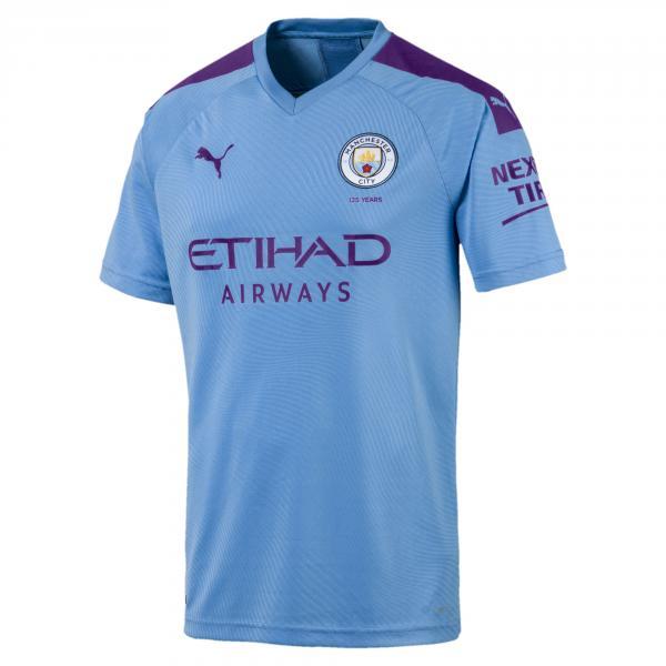 Puma Maglia Gara Home Manchester City   19/20 Azzurro