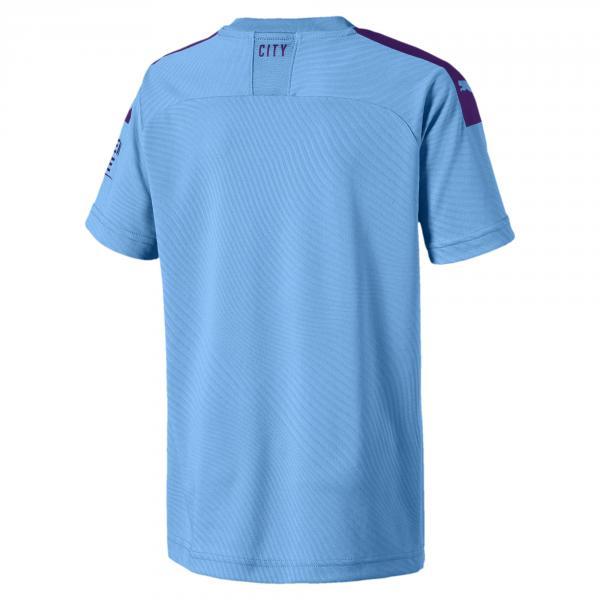Puma Maglia Gara Home Manchester City Junior  19/20 Azzurro Tifoshop