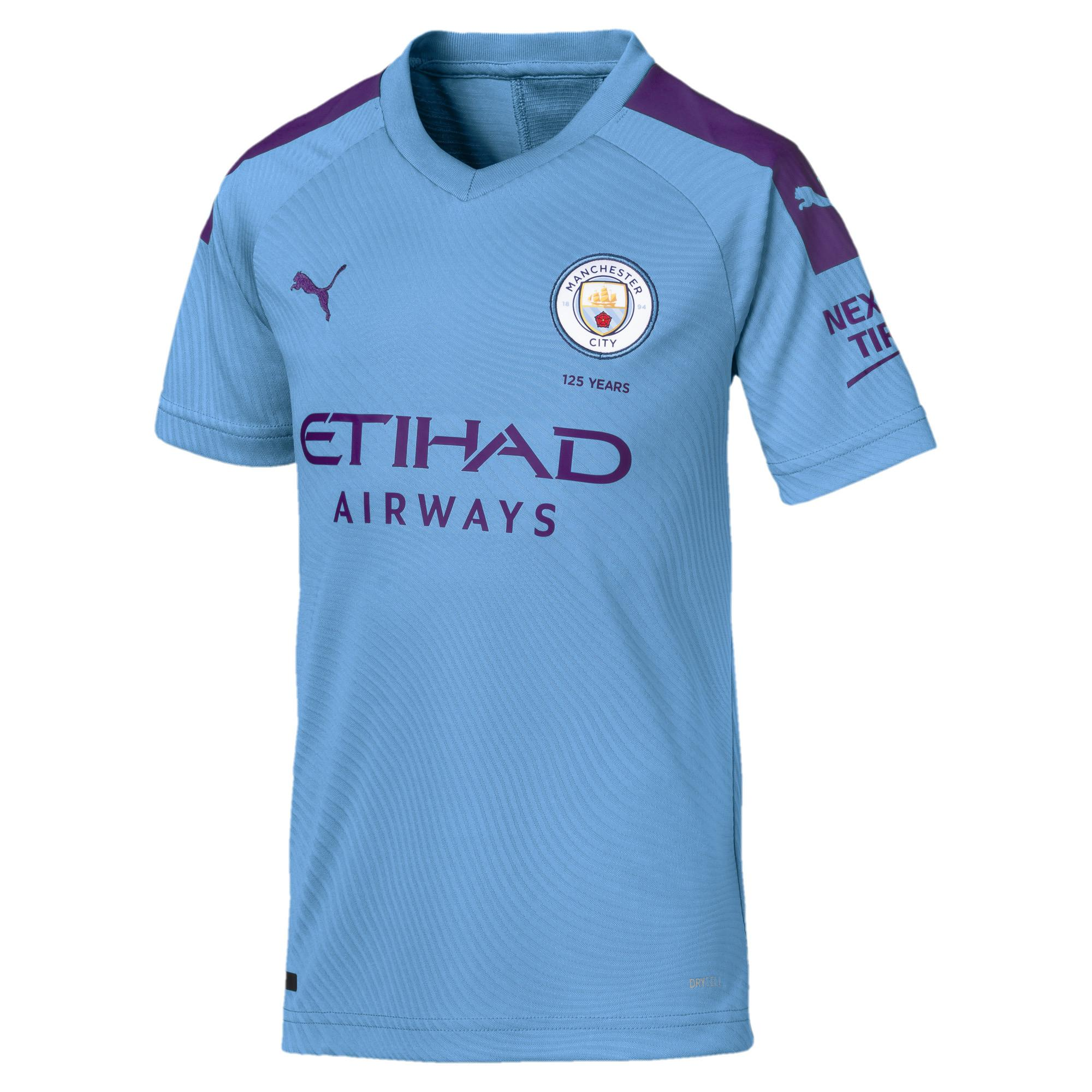 Puma Maglia Gara Home Manchester City Junior  19/20