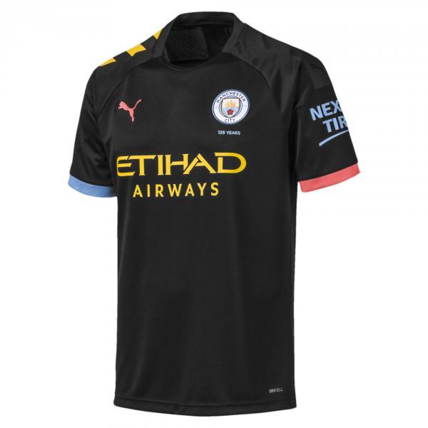 Puma Maglia Gara Away Manchester City   19/20 Nero