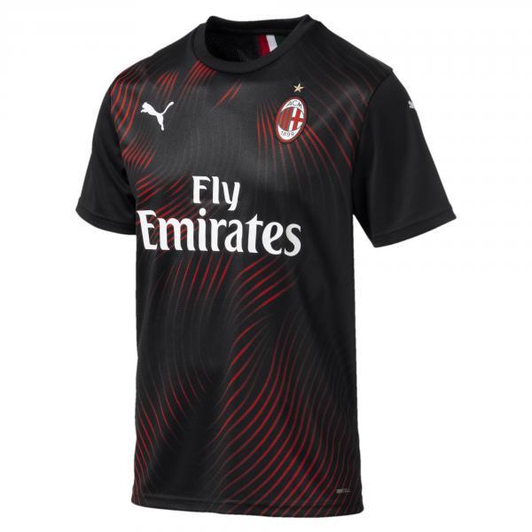 Puma Maglia Gara Terza Milan   19/20 Nero