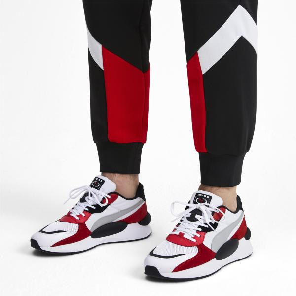 Puma Shoes Rs 9.8 Space PUMA WHITE-HIGH RISK RED Tifoshop