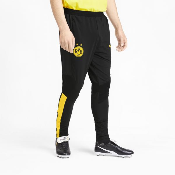 Puma Pantalone Allenamento Borussia Dortmund   19/20 Nero Tifoshop