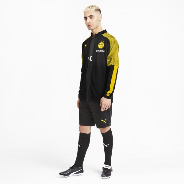 Puma Felpa  Borussia Dortmund   19/20 Nero Tifoshop
