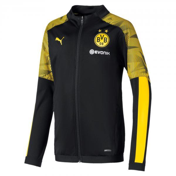 Puma Felpa  Borussia Dortmund Junior  19/20 Nero