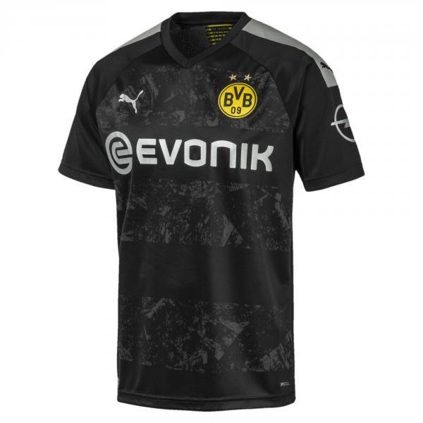 Puma Maglia Gara Away Borussia Dortmund   19/20 Nero