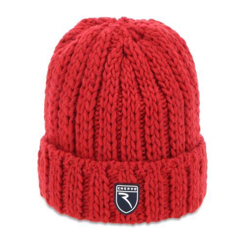 Chervò Cappello uomo rosso vulcano