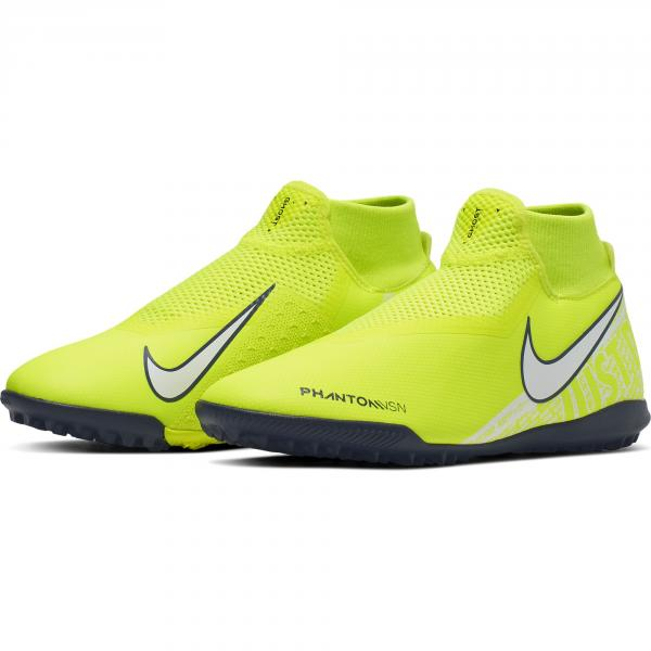Nike Scarpe Calcetto Phantom Vision Academy Dynamic Fit Tf Giallo Tifoshop
