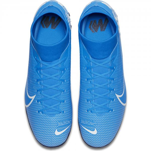 Nike Futsal Shoes Mercurial Superfly 7 Academy Tf Blue Hero/Obsidian/White Tifoshop
