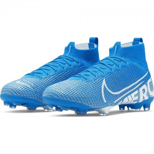 Nike Scarpe Calcio Mercurial Superfly 7 Elite Fg  Junior Azzurro Tifoshop