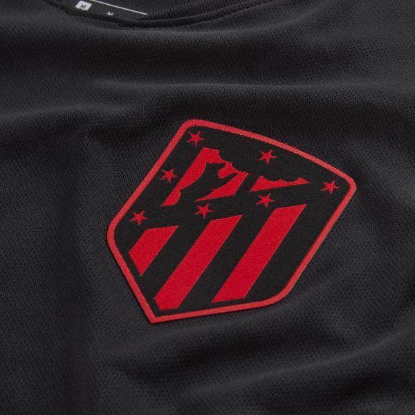 Nike Maglia Gara Away Atletico Madrid   19/20 Nero Tifoshop