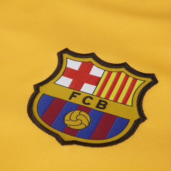 Nike Maglia Gara Away Barcellona   19/20 Giallo Tifoshop